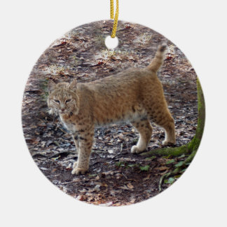Bobcat Christmas Ornament