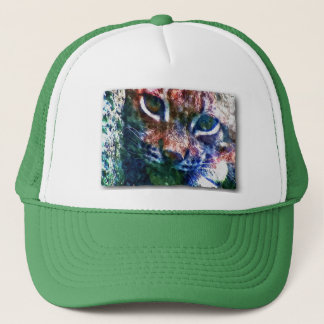 BOBCAT - Digitally Artwork Jean Louis Glineur Trucker Hat