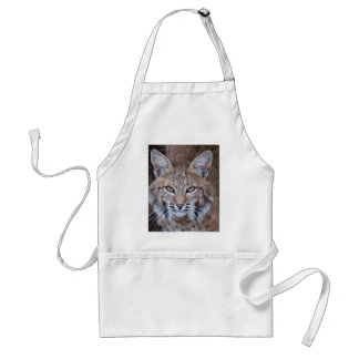 Bobcat Face Adult Apron
