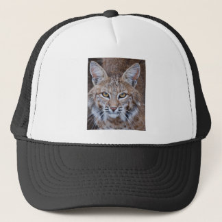 Bobcat Face Trucker Hat