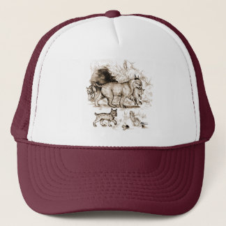 Bobcat Family Trucker Hat