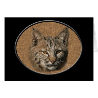 Bobcat Greeting Card 2