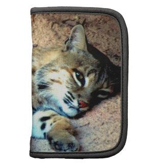 Bobcat Habitat Wallet Folio Planner