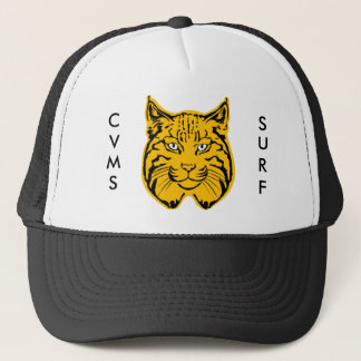 Bobcat Head, C, V, M, S, S, U, R, F Trucker Hat