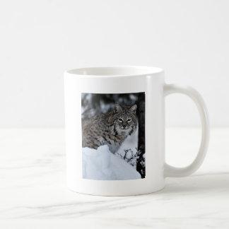 Bobcat in Snow Coffee Mug