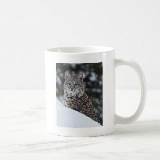 Bobcat in the Snow Coffee Mug