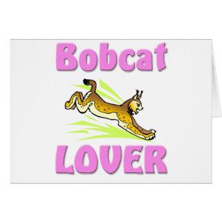 Bobcat Lover Greeting Card