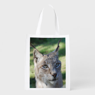 BOBCAT LYNX - LYNX photo: Jean Louis Glineur Reusable Grocery Bag