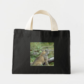 Bobcat Mini Tote Bag