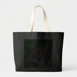 Bobcat or Lynx photo shopping tote bag