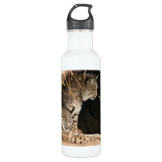 Bobcat Photo 24oz Water Bottle