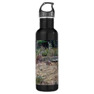 Bobcat Picture Water Bottle