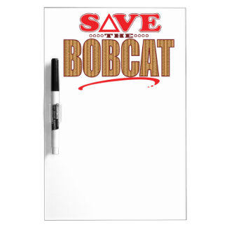 Bobcat Save Dry-Erase Board