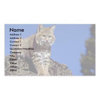Bobcat skylined business cards