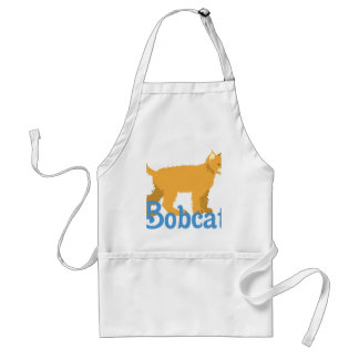 Bobcat Wild Cat Adult Apron