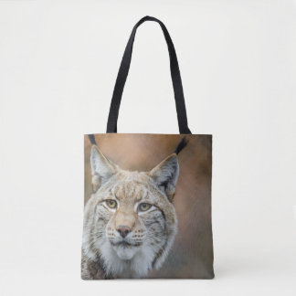 Bobcat Wilderness Tote Bag