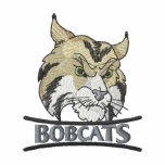 Bobcats Embroidered Track Jacket