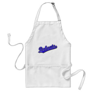 Bobcats in Blue Adult Apron
