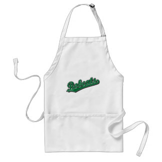 Bobcats in Green Adult Apron