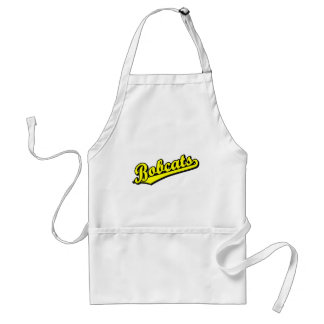 Bobcats in Yellow Adult Apron