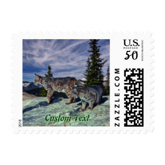 Bobcats - Personalized Postage