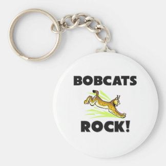Bobcats Rock Keychain
