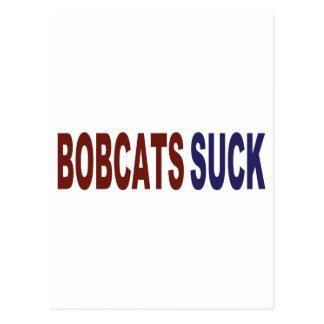 Bobcats Suck Postcard