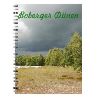 Boberg Dunes Note Book