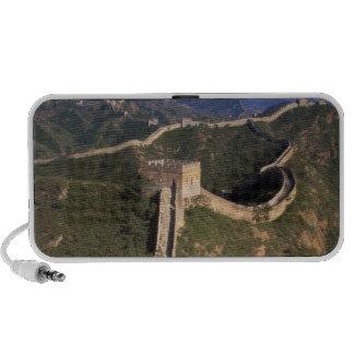 Bobina de la Gran Muralla a través de la montaña Laptop Altavoces