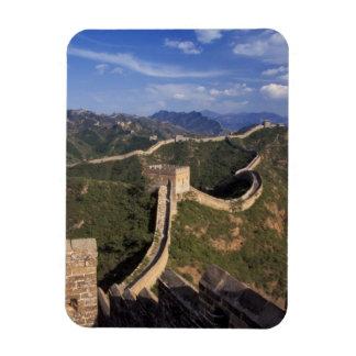 Bobina de la Gran Muralla a través de la montaña Imán Flexible