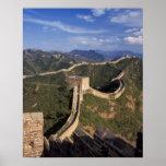 Bobina de la Gran Muralla a través de la montaña, Poster