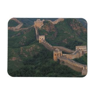 Bobina de la Gran Muralla a través de las montañas Iman De Vinilo