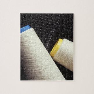 Bobina del hilo de algodón puzzles con fotos