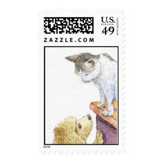 Bobo and Ah Mow Stamp
