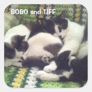 BOBO and TIFF STICKER