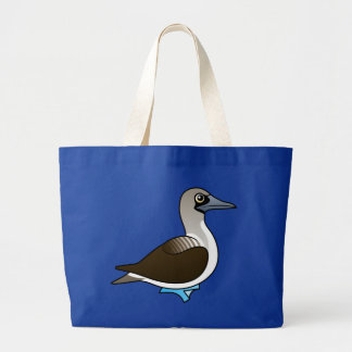 Bobo Azul-con base de Birdorable Bolsa De Mano
