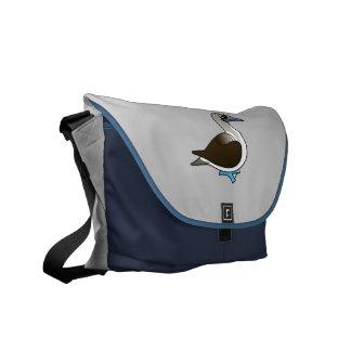 Bobo Azul-con base de Birdorable Bolsa Messenger