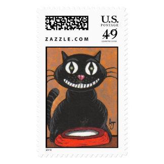 Bobo el gato negro (serie) - sello