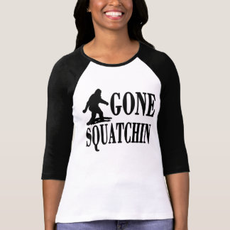 Bobo GONE SQUATCHIN Finding Bigfoot Tee