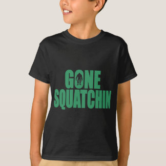 Bobo GONE SQUATCHIN Shirt FindingBigfoot