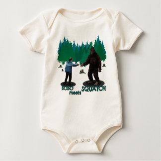 Bobo Meets Squatch Baby Bodysuit