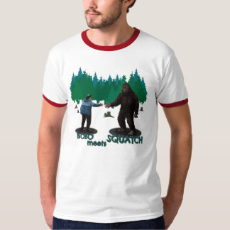 Bobo Meets Squatch T Shirt