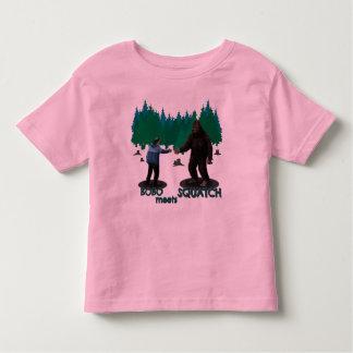 Bobo Meets Squatch Toddler T-shirt