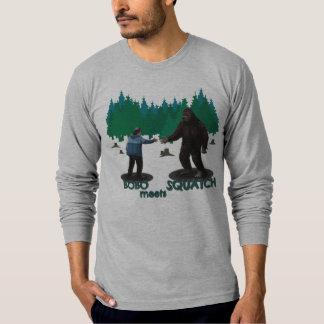 Bobo resuelve Squatch Camisas