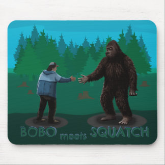 Bobo resuelve Squatch Tapete De Ratones