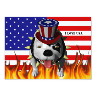 Bobo Show's his patriotism Card