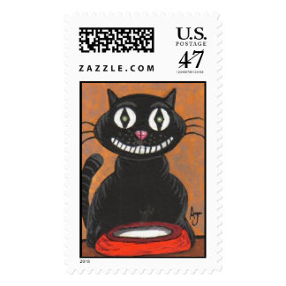 BoBo the Black Cat (series) - postage stamp