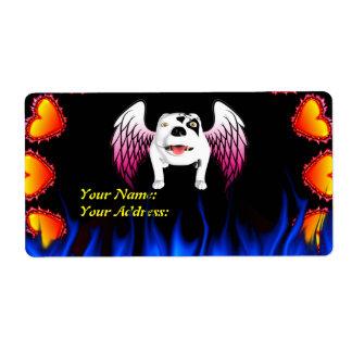 Bobo the Devil Dog does Angel Label