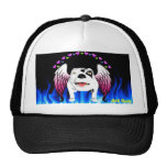 Bobo the Devil Dog does Angel Mesh Hats