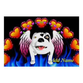 Bobo the Devil Dog does Angel Posters